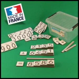 cartes des nombres - Montessori - Pedabox- 01