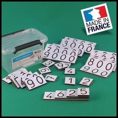 petites cartes des nombres - Montessori - PEDABOX